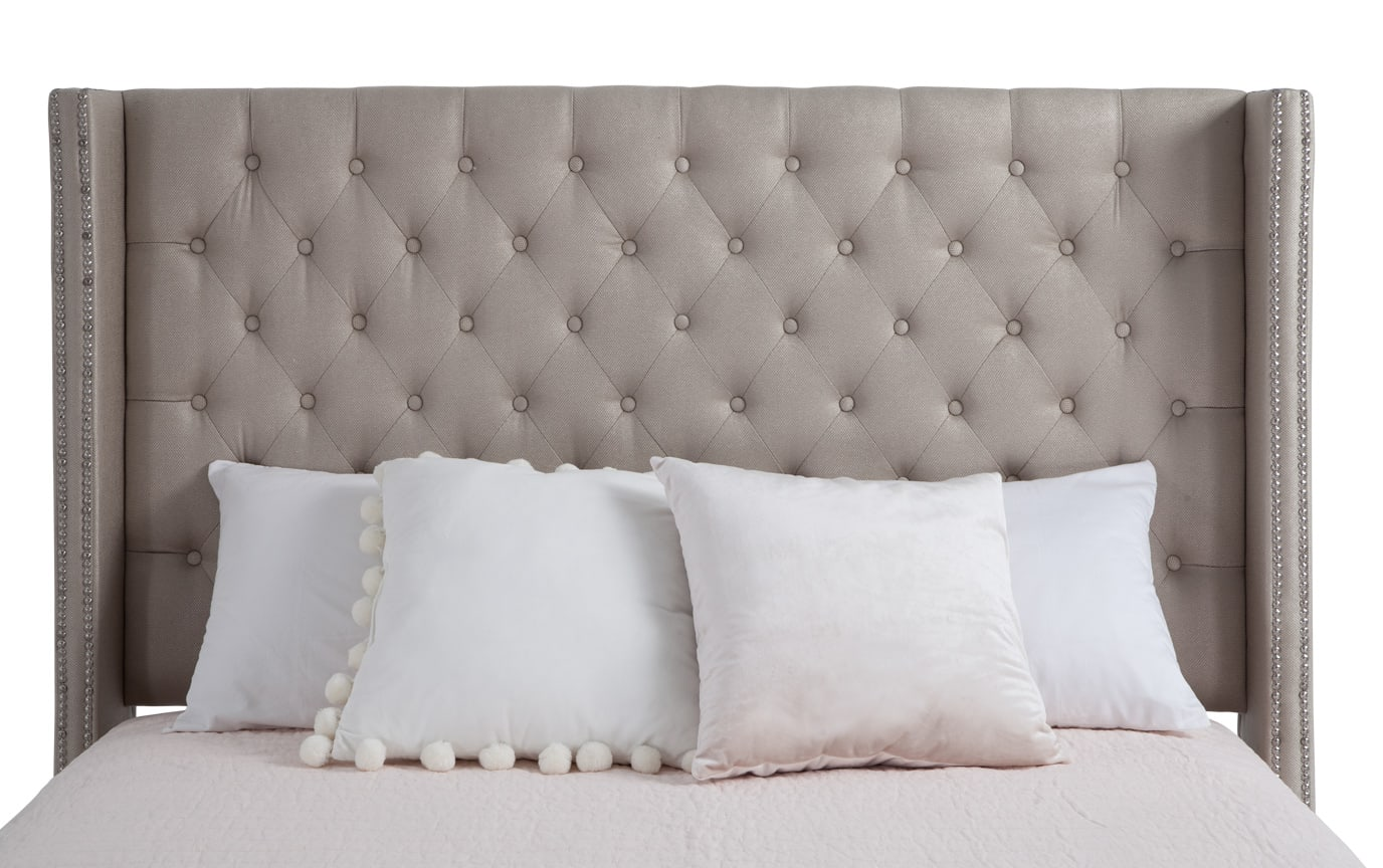 Dazzle King Upholstered Bed