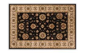 Morocco 6'6 x 9'6 Black Rug