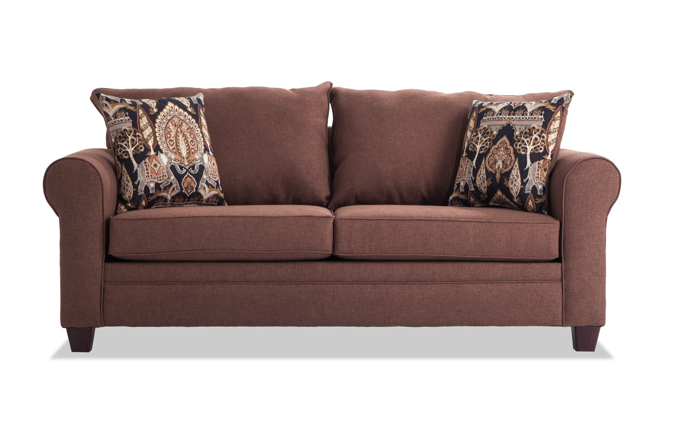 Banner Walnut Sofa
