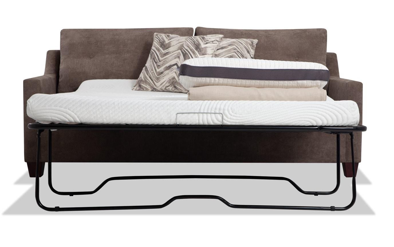 Serene Taupe Bob-O-Pedic Queen Sleeper Sofa