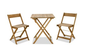 Margaret Brown 3pc Outdoor Table Set