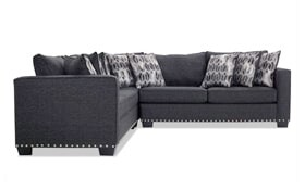 Symphony 3 Piece Left Arm Facing Sectional