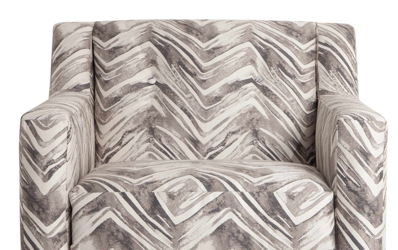 Serene Taupe Accent Chair
