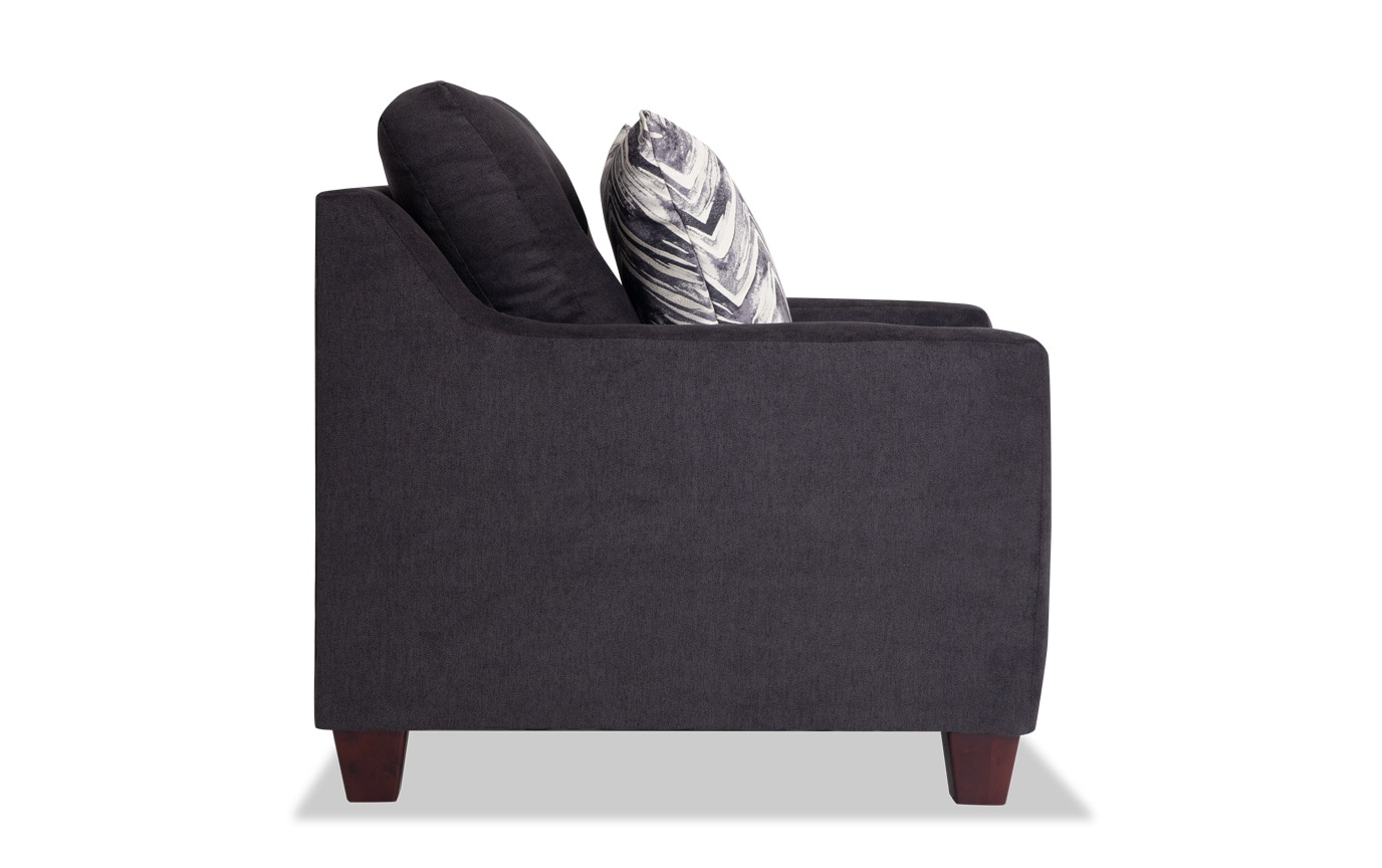 Serene Black Chair