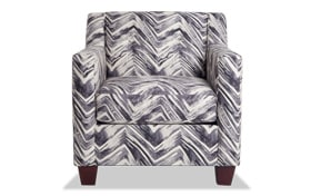Serene Black Accent Chair