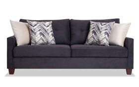 Serene Black Sofa