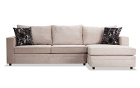 Ivan Taupe Left Arm Facing Sectional