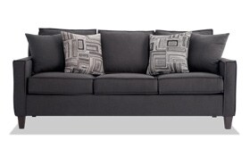 Jessie 80'' Gray Sofa