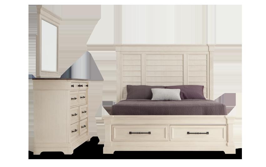 Laurel Queen Bedroom Set