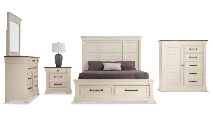Laurel Queen Bedroom Set