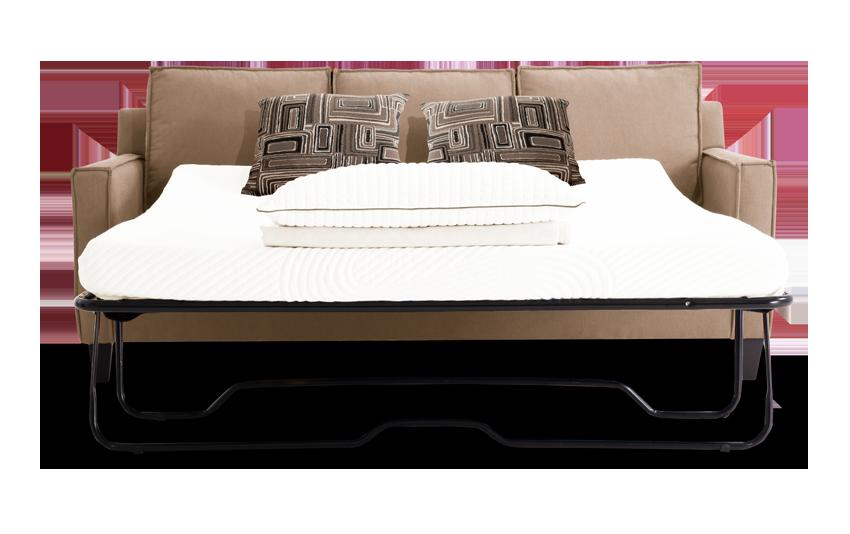 Jessie 72 Beige Bob O Pedic Gel Full Sleeper Sofa Bobs Com