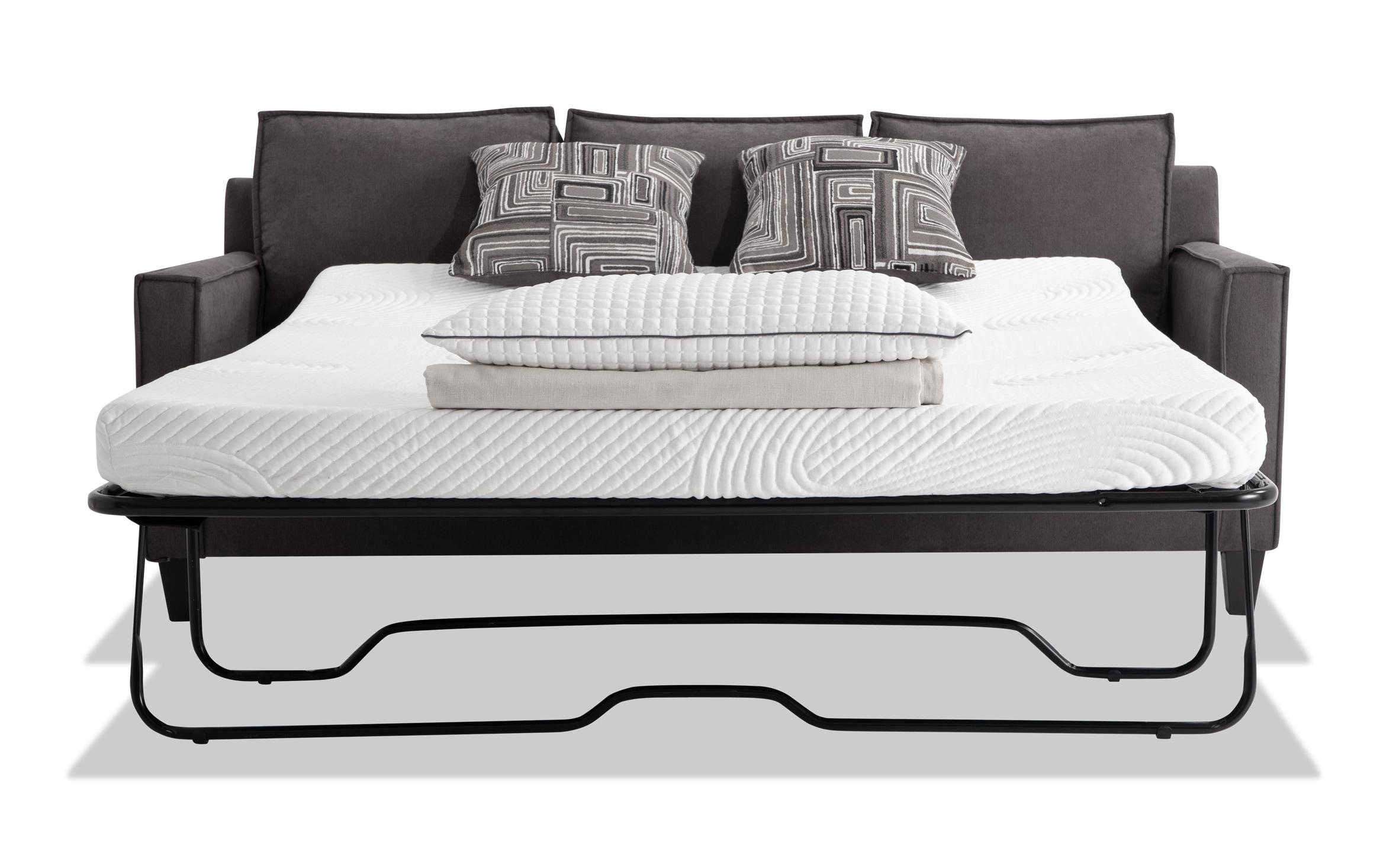 Gray Bob O Pedic Gel Full Sleeper Sofa