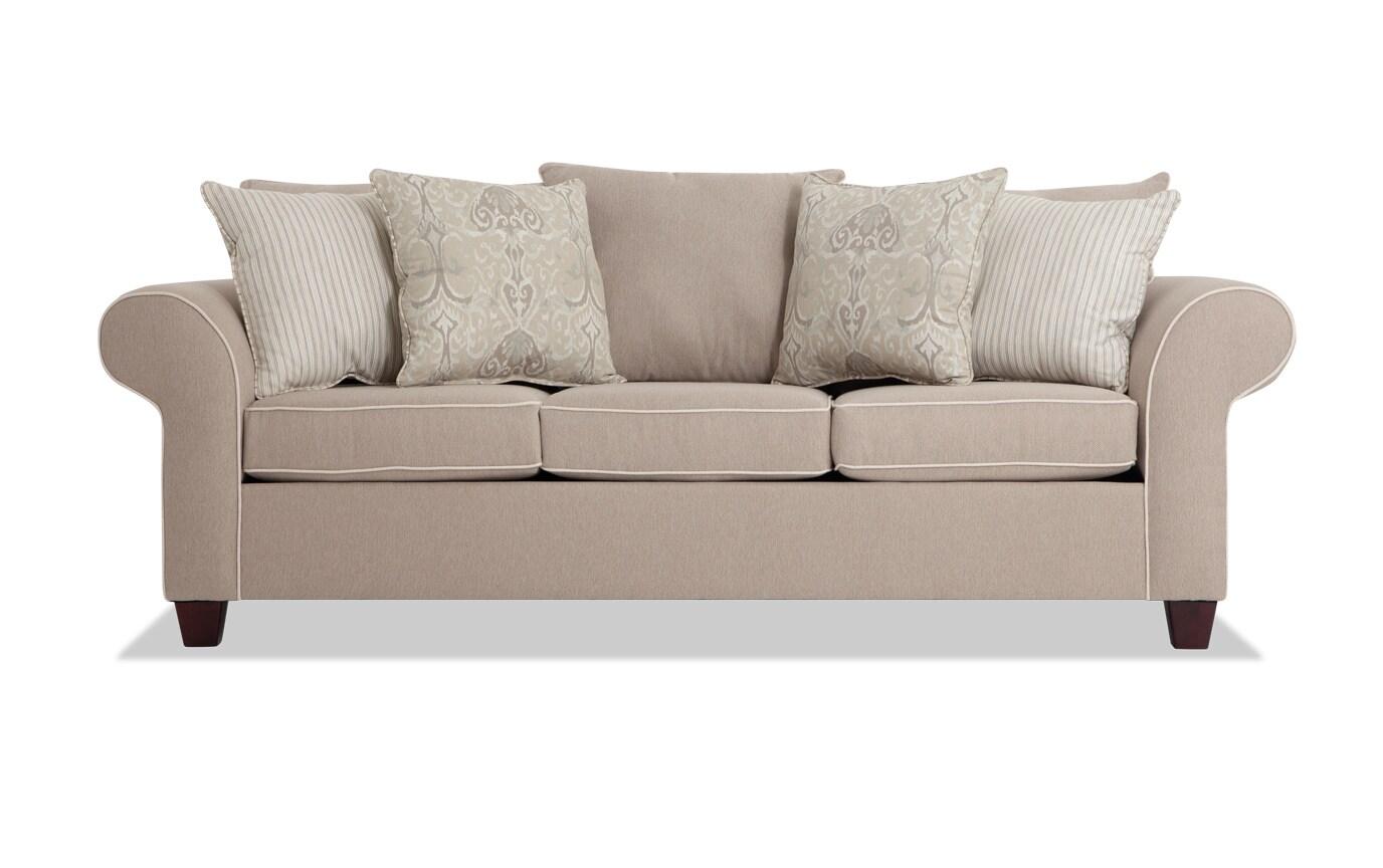 Ashton Khaki Sofa & Loveseat