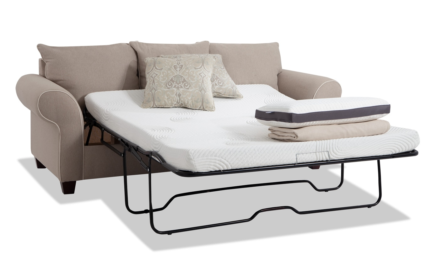 Ashton Bob O Pedic Queen Sleeper Sofa Bobs Com