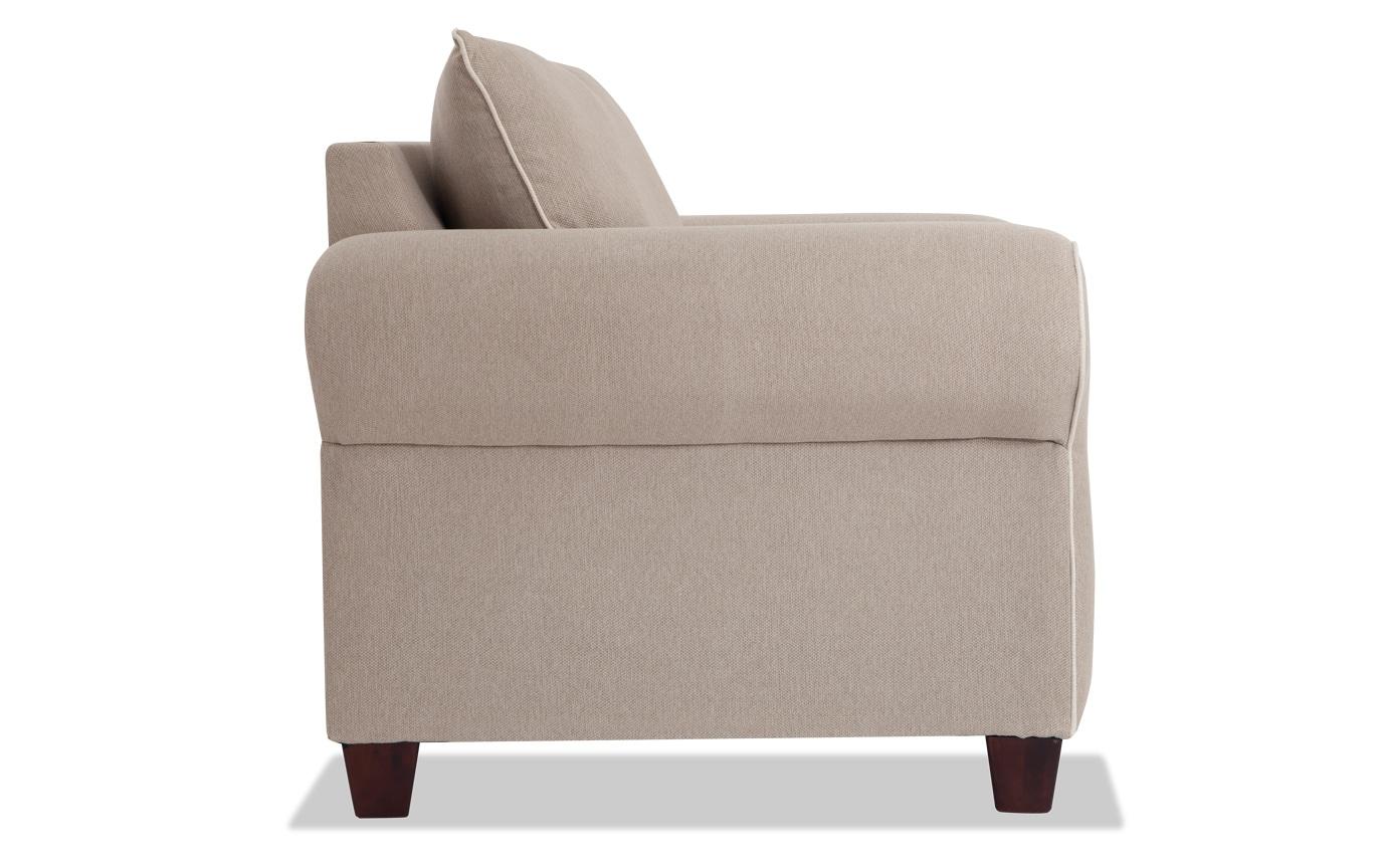 Ashton Khaki Sofa Amp Chair Bobs Com