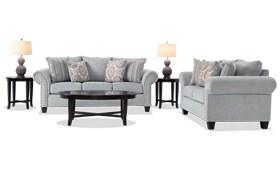 Artisan Blue 7 Piece Living Room Set