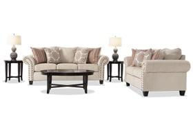 Artisan Beige 7 Piece Living Room Set
