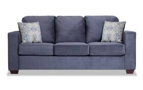Aubree Navy Sofa