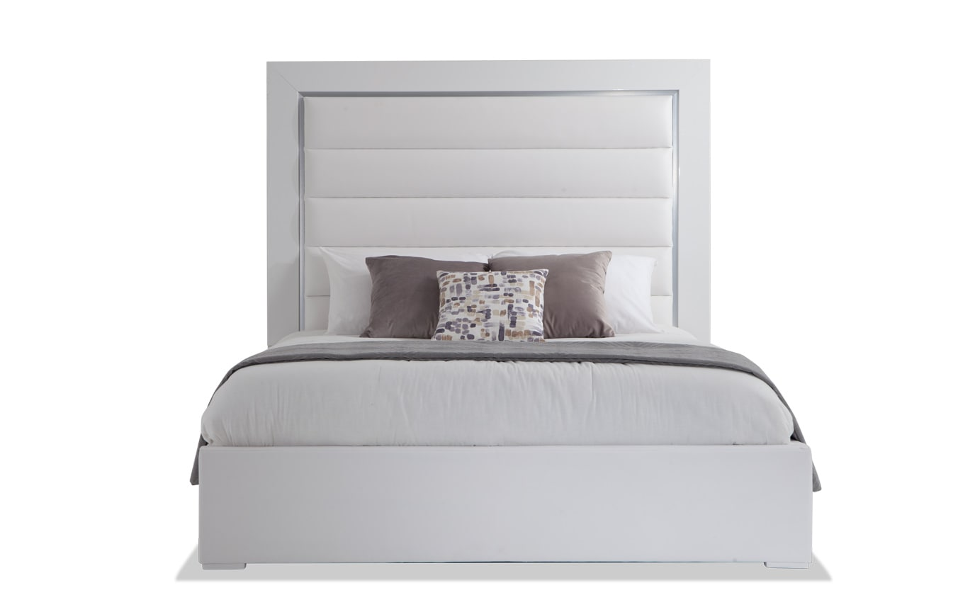 Amalfi Queen White Bedroom Set