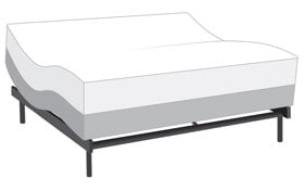 Power Bob Ultra with Bob-O-Pedic Enchant King Dual Mattress