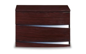 Zaid Wenge Wood Nightstand