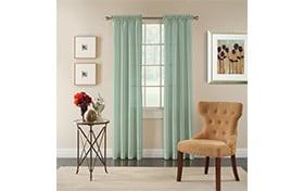 Holmes 50'' x 84'' Blue Curtain Panel