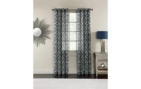 Ellise 50'' x 84'' Ivory Curtain Panel
