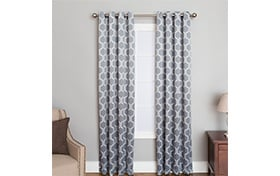 Freya 50'' x 84'' Gray Curtain Panel