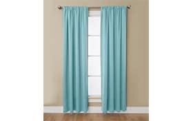 Haines 50'' x 84'' Blue Curtain Panel