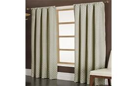 Marta 50'' x 84'' Ivory Curtain Panel