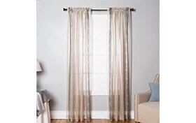 Chamberlain 52'' x 84'' Beige Curtain Panel