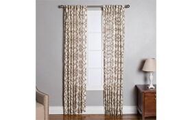Chapman 50'' x 84'' Beige Curtain Panel