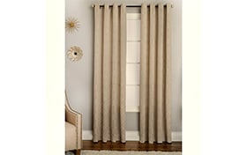 Norton 50'' x 63'' Beige Curtain Panel