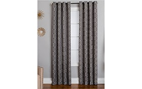 Norton 50'' x 95'' Gray Curtain Panel