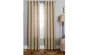 Nolan 50'' x 63'' Beige Curtain Panel