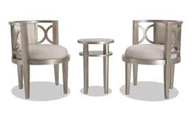 Marilyn 3 Piece Chair Set