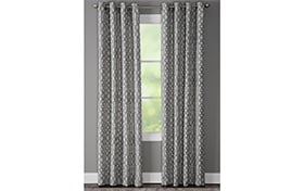 Hartfield 50'' x 95'' Blue Curtain Panel