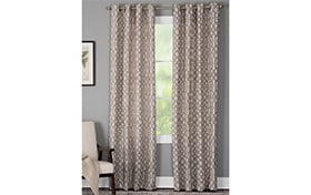 Hartfield 50'' x 95'' Taupe Curtain Panel