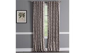 Bassett 50'' x 84'' Natural Curtain Panel