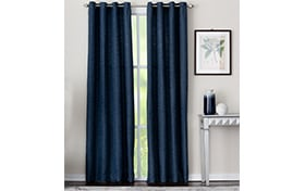 Mackay 50'' x 63'' Indigo Curtain Panel