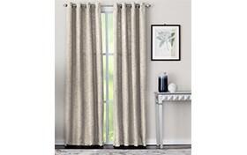 Mackay 50'' x 63'' Ivory Curtain Panel