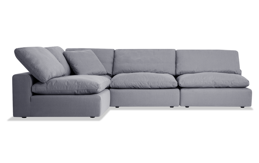Dream Gray Modular 4 Piece Sectional