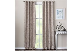 Celia 50'' x 84'' Tan Curtain Panel
