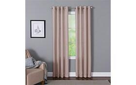 Devan 50'' x 63'' Blush Curtain Panel