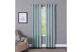 Devan 50'' x 63'' Teal Curtain Panel