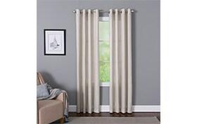 Devan 50'' x 84'' Ivory Curtain Panel