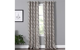 Maurice 50'' x 63'' Taupe Curtain Panel