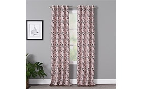 Maurice 50'' x 84'' Blush Curtain Panel