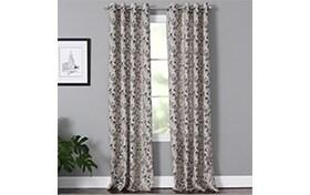 Maurice 50'' x 84'' Taupe Curtain Panel