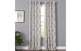 Vivian 50'' x 63'' Blush Curtain Panel